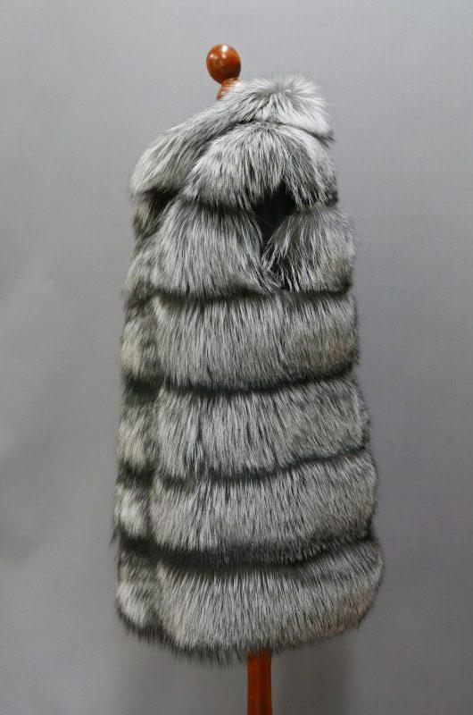 Kamizelka z lisów srebrnych, r. M